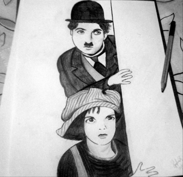 Charlie Chaplin por sofiiach